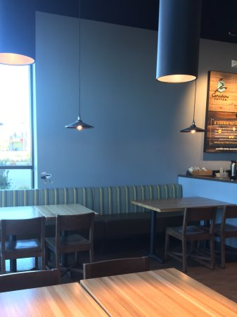 Urbandale, IA: Tables on North wall