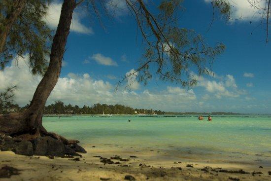La Palmeraie Hotel: Der Strand an der Süd-Ostseite mit einer größeren Bucht.