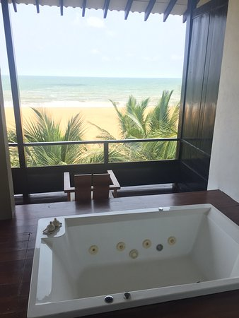 jacuzzi on our room balcony picture of jetwing blue negombo tripadvisor. Black Bedroom Furniture Sets. Home Design Ideas