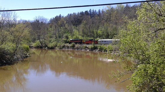 Peninsula, Огайо: Cuyahoga Valley Scenic Railroad