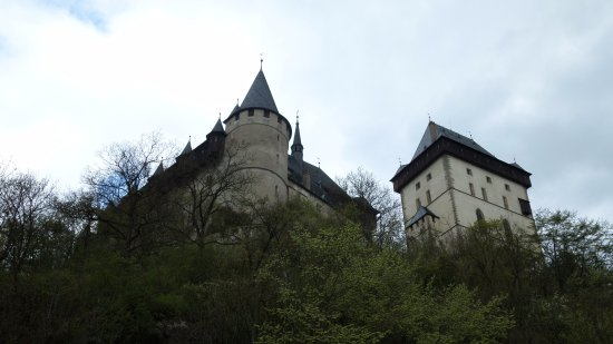 Karlstejn, Çek Cumhuriyeti: הארמון