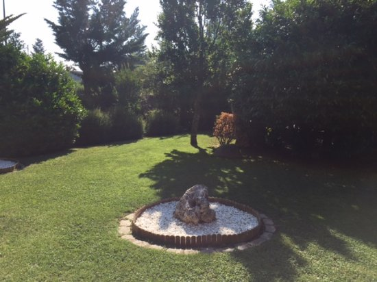 Taradell, España: Jardin