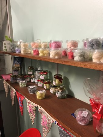 Sanquhar, UK: Burnside Filling Station & Tearoom