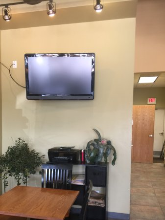 West Des Moines, IA: Big TV on wall