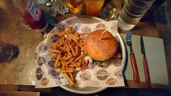 La place: burger BBQ