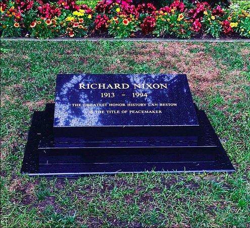 Yorba Linda, CA: Richard Nixon's grave