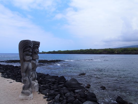 Pu'uhonua O Honaunau National Historical Park: プウホヌア・オ・ホナウナウ 国立歴史公園