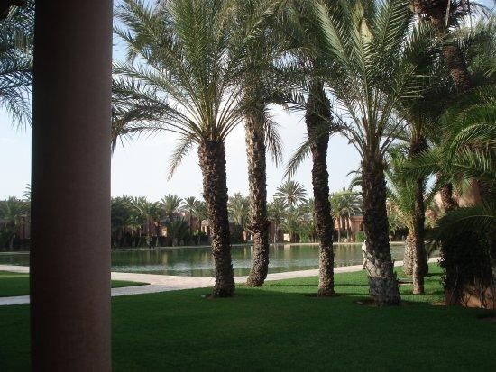 Amanjena: A focal point, the pond