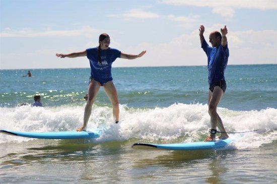 Agnes Water, Αυστραλία: Surfing together! Thanks for the excellent photos :)