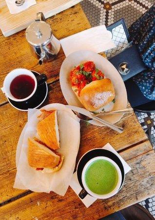 Brookline, MA: Tatte Bakery and Cafe