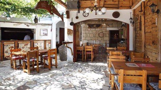 Vinisce, Croacia: Terrace