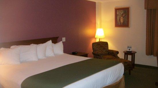 Days Inn & Suites by Wyndham Mt Pleasant: KING BED