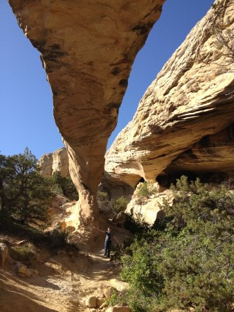 Moonshine Arch, 9 miles from hotel in Vernal, Utah