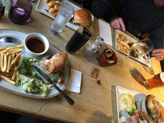 Cramlington, UK: Schmackhaftes Essen