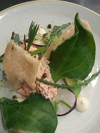Calne, UK: Fine food at the Lansdowne Strand