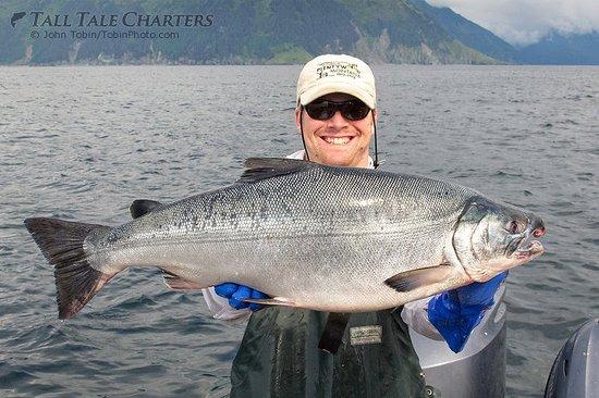Soldotna, AK: Silver (Coho) Salmon - Multi-species fishing out of Homer, AK