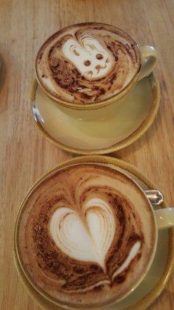 Carrick-on-Shannon, Irlanda: best coffee. what a taste!!