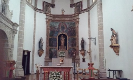 Siguenza, Spain: altar