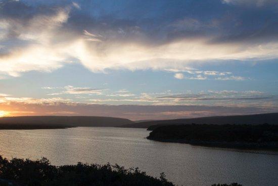 Bredasdorp, Republika Południowej Afryki: Sunset over the vlei