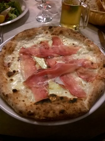 Agriturismo Arangea: Pizza ooooookkkkkkkk
