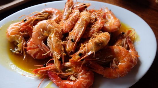 Bulacan Province, Filipinas: Butter Garlic Shrimp