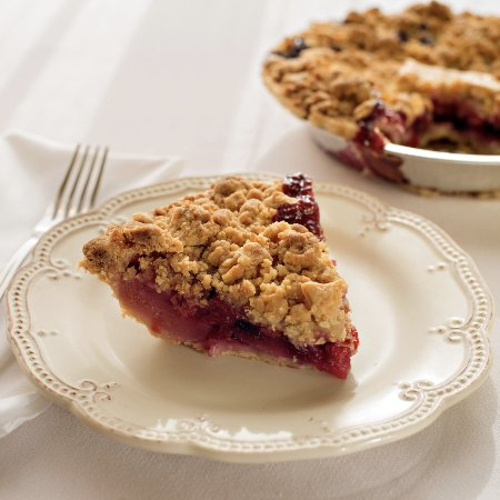 Grand Traverse Pie Co.: ABC Crumb Pie made with all Michigan Apples, Blueberries and Cherries