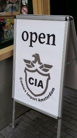 CIA Comics Import Amsterdam