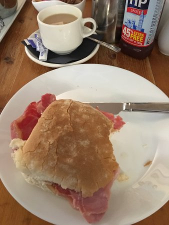Warkworth, UK: Ham in a Bun