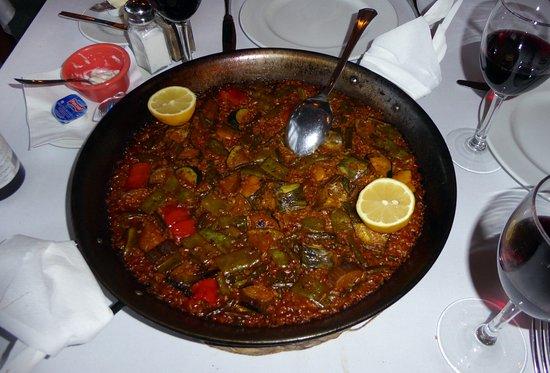 Restaurante Nucia Park: Vegetarisk paella
