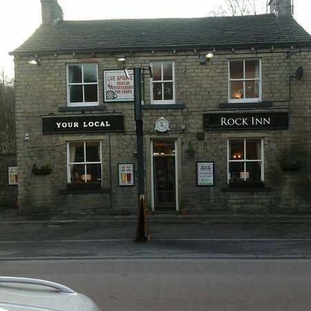Holmfirth, UK: Rock inn