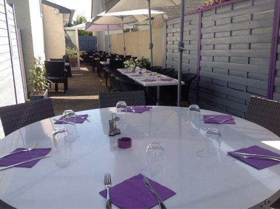 Chartres-de-Bretagne, Francia: Restaurant LE REFUGE