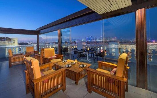 Souq Waqif Boutique Hotels by Tivoli: Al Shurfa Arabic Lounge