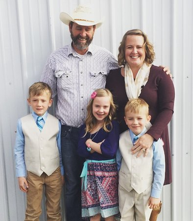 Circle View Guest Ranch: Your hosts, the Kruse Family.