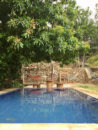 Dipartimento di Magdalena, Colombia: Pool and chill area.