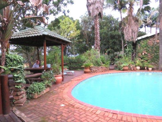 Sabie, Republika Południowej Afryki: Relaxing on the terrace