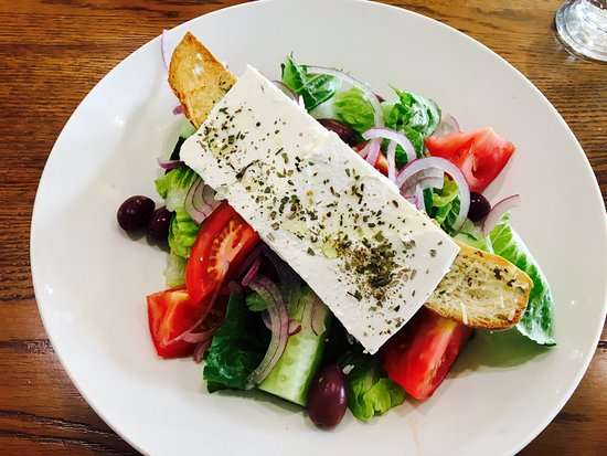 Germiston, Zuid-Afrika: A wonderful Greek salad