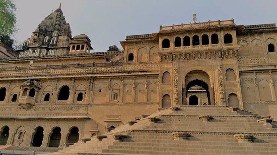 Ahilya Fort: Facade