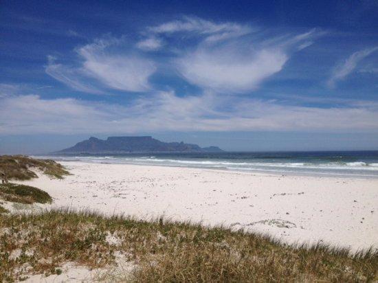 Bloubergstrand Beach: Spettacolo