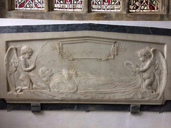 Cranbrook, UK: Memorial to Thomas Webster 10-03-1800 – 23-09-1886