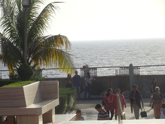 Swaminarayan Temple : THE SEA SEEN FROM TEMPLE