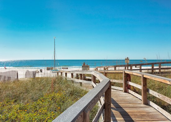 Boardwalk To The Beach On Gulf Of Mexico Picture