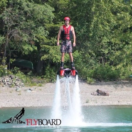 Whitefish, MT: FlyBoard is an unexplainable amazing sensation of Flight