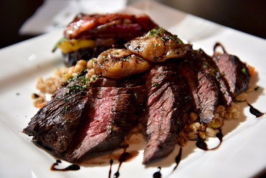 Falmouth, ME : Wood Grilled Hanger Steak