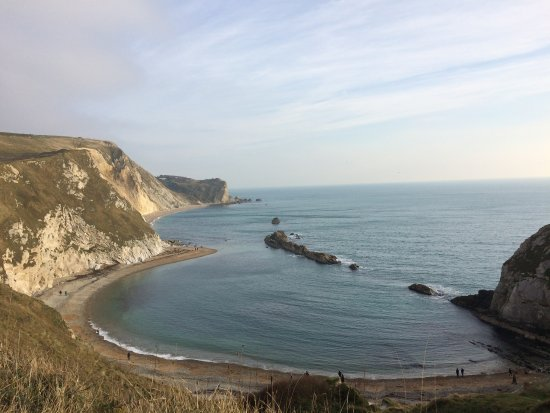 West Lulworth, UK: Lovely view