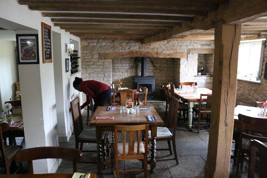 Thame, UK: The restaurant