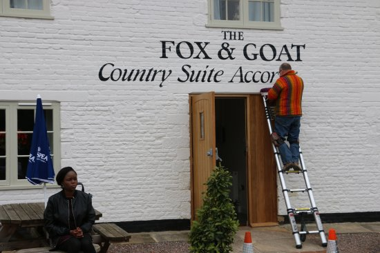 Thame, UK: Wall painting