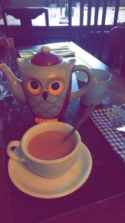 Thame, UK: And of course, TEA!