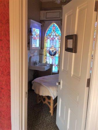Stillwater, MN: Private massage room.