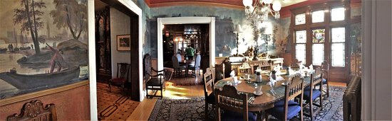 Stillwater, MN: One of two dining rooms.