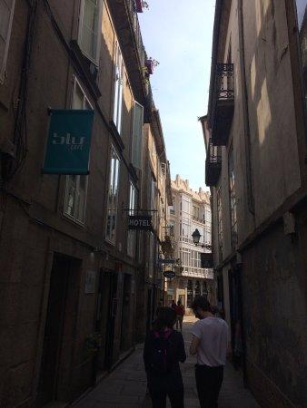 Hotel Real: Muy limpio. Céntrico, a unos 4 min de la catedral y muy cerca de las calles con más restaurantes